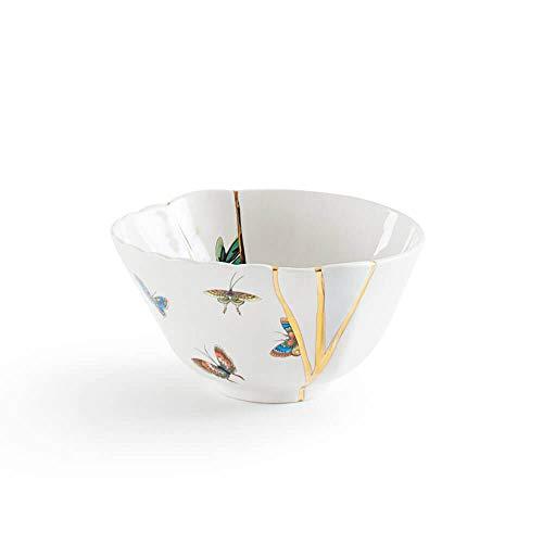 Seletti Kintsugi Bol en porcelaine et or 24 carats 2