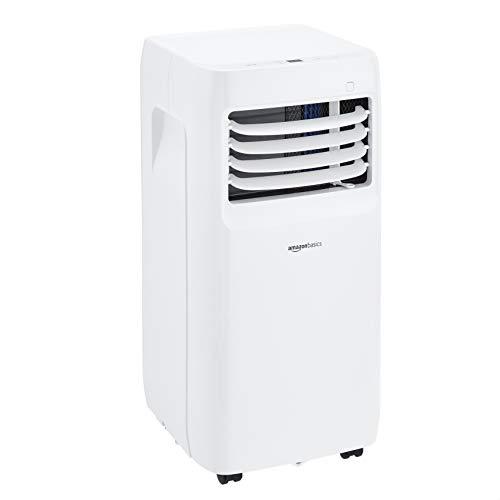 Amazon Basics - Aire acondicionado portátil con deshumidificador, 8000 BTU H, Energía Clase A