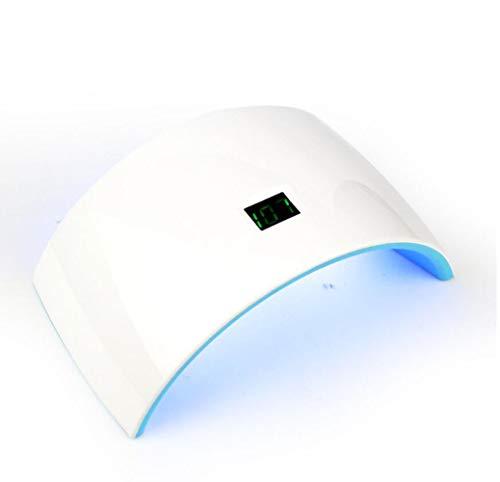 YCHCH Mini Lampe à Ongles UV LED, Lampe de durcissement pour dessiccateur de Vernis à Ongles 30W avec 15 Del de Mode de minuterie Affichage à LED USB Plug UV Gel Vernis à Ongles Transporter Pratique