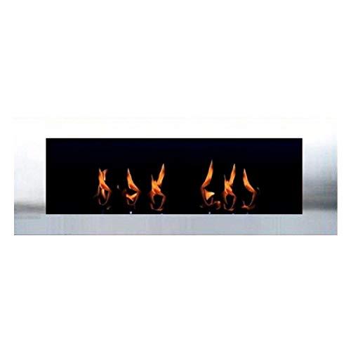 L'éthanol et cheminée de gel Cheminée Modèle Celin - Choisir parmi 6 couleurs (Inox)