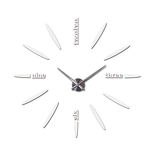 XMBT Ticking Silent Quartz Quiet Sweep Uhrwerk Wanduhr-Wanduhr Silent Non Uhr Wanduhr Home Decor Übergroße Küchenwanduhr Retro Vintage Wanduhr Außenuhr,Size:14inch