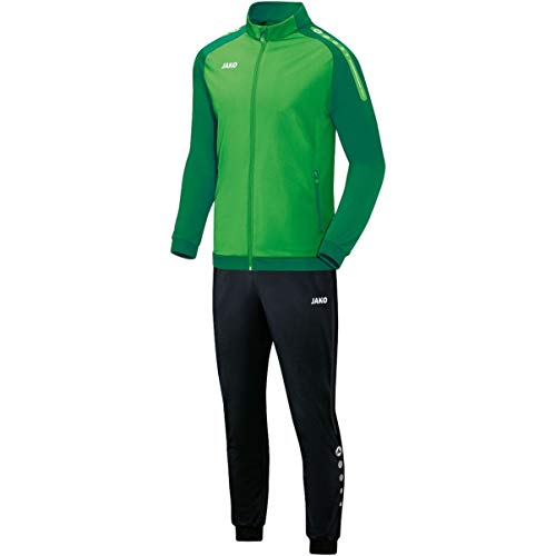 JAKO Herren Champ Trainingsanzug Polyester, Soft Green/Sportgrün, L
