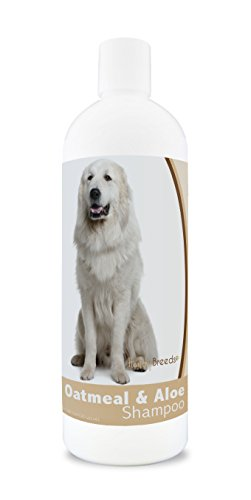 Healthy Breeds Great Pyrenees Oatmeal Shampoo with Aloe 16 oz