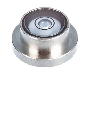 Dosenlibelle magnetisch und justiert, Gehäuse aus Messing, made in Germany, einfache Ausrichtung aller Haushaltsgeräte und Maschinen