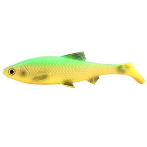 JBFZDS Der Perfekte 3D-Weichköderfischfisch 5G 10G 20g 40g Silikon-Kunststoff-Swimbait-Shad-Crankbait Für Rigg-Angel YFYUER (Color : Color E, Size : 5g)