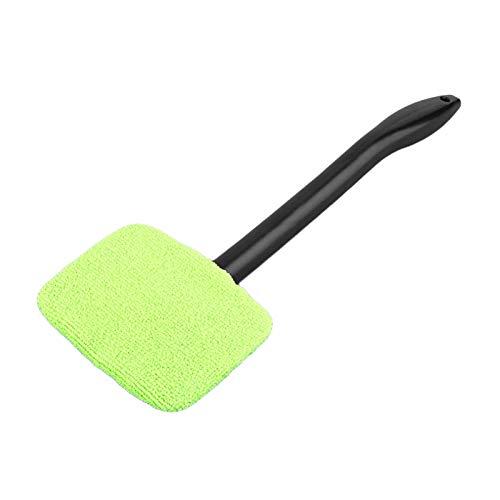 Blesiya Windschutzscheibe Reiniger mit Mikrofaser Tuch, Glas Washer Reinigung Werkzeug für Auto Windows - Licht Grün