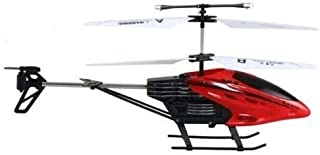 YIDAJIA Falcon RC Flying Helicopter, RC Infrared Induction Helicopter red color