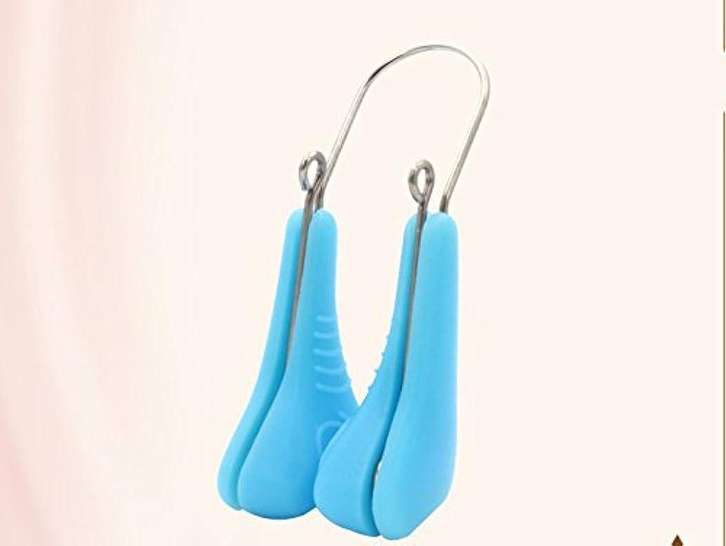 悲鳴不注意半導体Liebeye ノーズアップ ノーズクリップ 美容ツール ノーズ整形 プラスチック 女性 ブルー