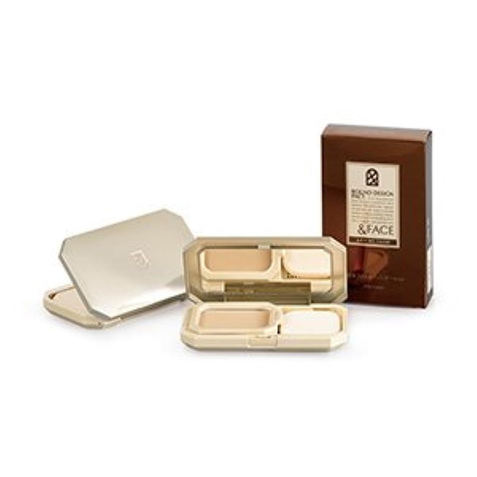 鳴り響く香水技術資生堂インターナショナル &FACEアートメソッドラウンドデザインパクトオークル30 OC30