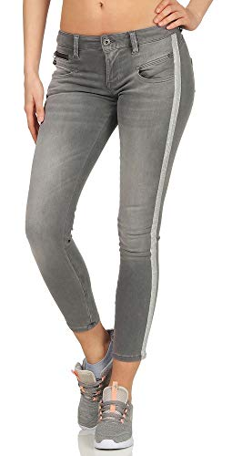 Freeman T. Porter Alexa Cropped Super Stretch Denim freyness Größe L
