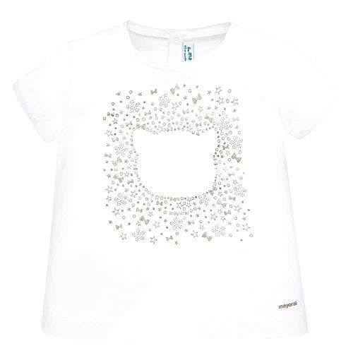 Mayoral Camiseta m/c Gato Bebe Niña (9 Meses)