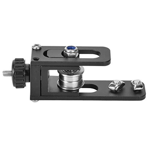 Cinturón síncrono de aleación de aluminio Perfiles X 2020 Tensor negro Accesorios de impresora 3D de gran potencia Enderezar juego de tensor para llenado para empaque de productos