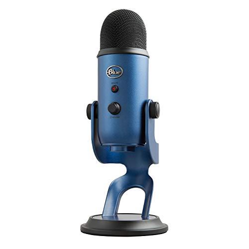 Blue Microphones Yeti USB コンデンサー マイク Midnight Blue イエティ ミッドナイト ブルー BM400MB PC MAC PS4 USB ストリーミング 配信 ストリーマー テレワーク web会議 国内正規品 2年間メーカー保証