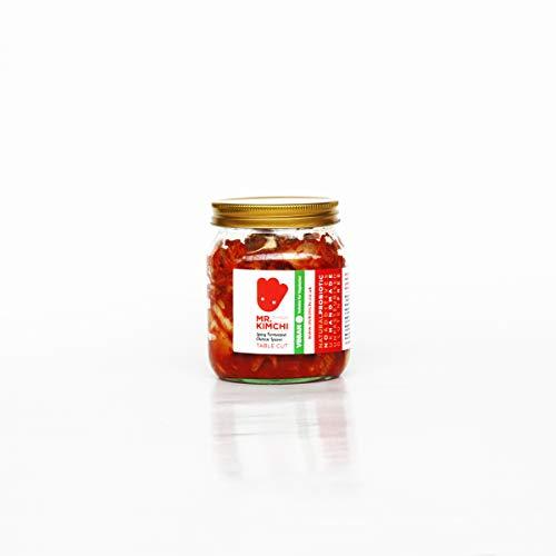 250g Freshly UK- made Vegetarian Kimchi based on Authentic Korean Recipe (Natural Fermentation, Natural Probiotics, No Artificial Additives)