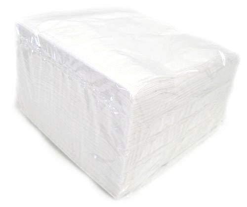 We Can Source It Ltd - Bianco 2 Veli Tovaglioli di Carta (33cm x 33cm) - Contenitore da 2000
