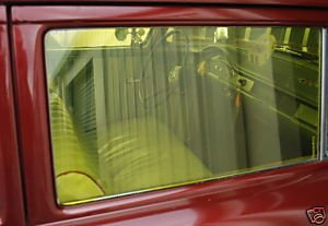 GASSER WINDOW TINT GOLD VINTAGE RETRO CAR TRUCK 60's 70's FILM NOSTALGIA DRAGSTRIP RACE RACING HOT ROD RAT ROD A/FX B/G S/S SS/AA MOON SUN COMPATIBLE WITH FORD CHEVY DODGE PLYMOUTH WILLYS ANGLIA NOVA