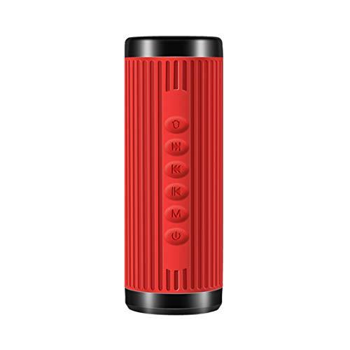 HIOD Bocina Bluetooth Impermeable A Prueba de Polvo Iluminación Al Aire Libre Altavoz Inalámbrico...