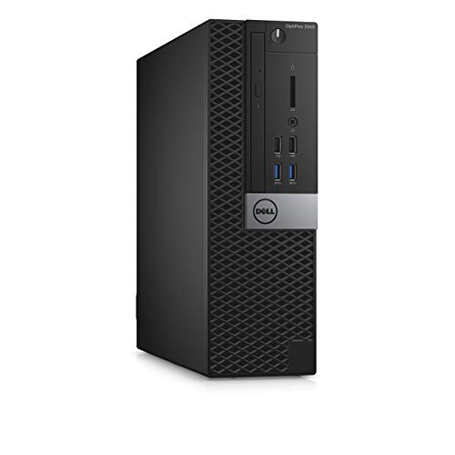 Dell Optiplex 3040 SFF i5 6500 8GB RAM 240GB SSD HDMI HD Graphics Win 10 Pro (Renewed)