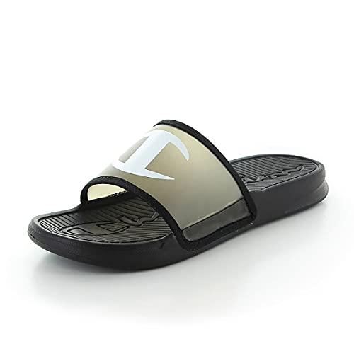 [セレブル] (チャンピオン) Champion シャワーサンダル メンズ レディース 軽量 履きやすい フットベッド ブラック 22cm