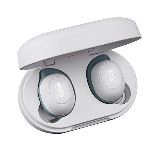 Boompods   Boombuds GS   True Wireless   Bluetooth-In-Ear-Kopfhörer   wasser- und schweißfest (IPX5)   Ergofit   tragbare, magnetische Ladehülle   beste Sport-In-Ear-Kopfhörer