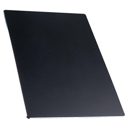 ALUDA アルミ合金マウスパッド 表面さらさら 極薄軽量 ブラック