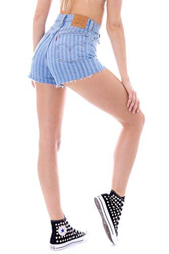 Levi's Shorts Damen Blau