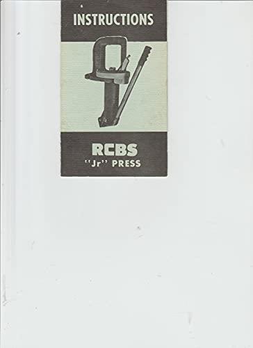 JR Press Instructions Precisioneered Reloading Equipment