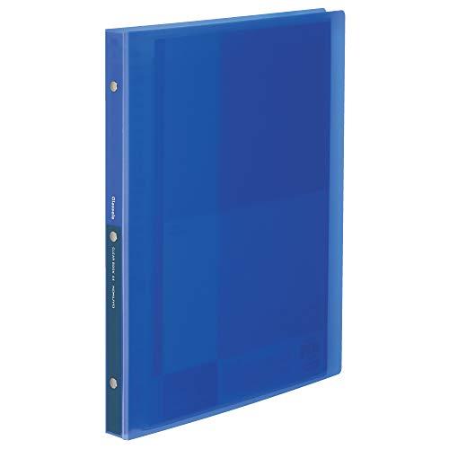 コクヨ Glassele クリヤーブックグラッセル替紙式A4 ブルー ラ-GL720B