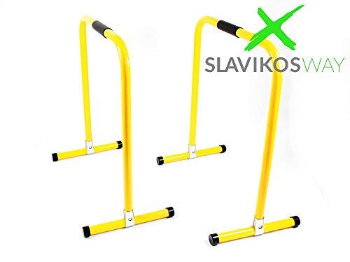 Slavikosway Paar Dip Station Barren Fitness Parallettes 73x61cm Calisthenics 9010014