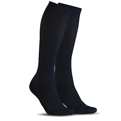 Flying K Boot Socks, 2 pack, Men or women, over-the-calf design to stay up while you work or play. These knee high socks are tall and comfortable with hiking boots, work boots, or cowboy boots.