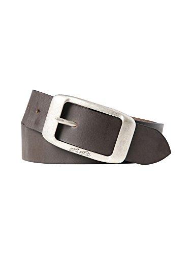 TOM TAILOR für Frauen Belts Leder-Gürtel im Used-Look, D.braun /Dk. Brown, 85