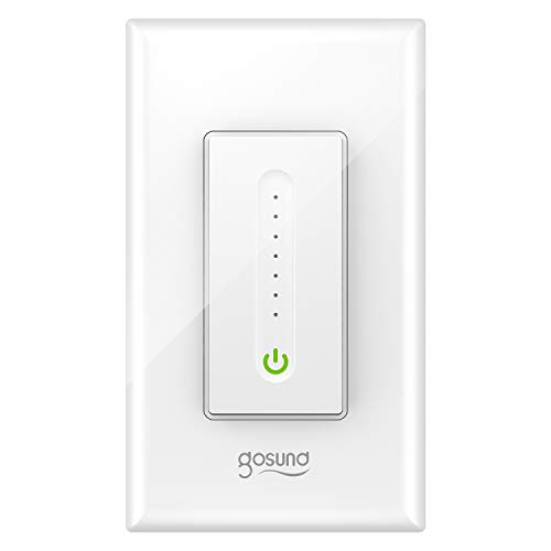 Our #5 Pick is the GoSund Smart Dimmer Switch
