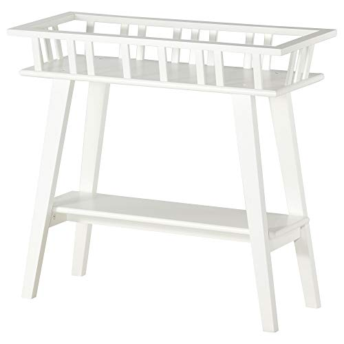 Ikea LANTLIV Pflanzenständer weiß 701.861.13