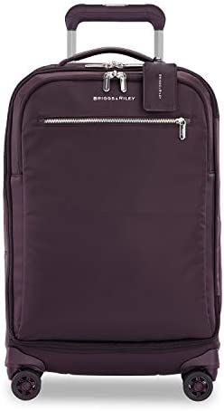 Briggs Riley Rhapsody Softside Spinner Luggage Plum Tall Carry On 22 Inch product image
