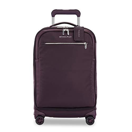 Briggs & Riley Rhapsody Tall Carry-On Spinner Hand Luggage, 56 cm, 36.7 liters, Plum