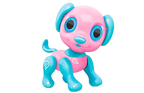 RC TECNIC Perro Robot para niños Lucy con Control por Voz | Camina, Ladra y Canta, Juguete Mascota Interactiva
