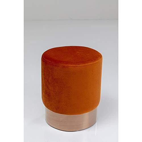 Kare Cherry Stool Dark Orange Copper 35 cm