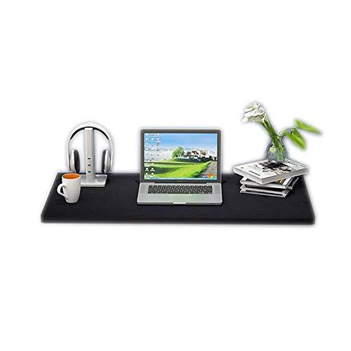 Uitklapbare klaptafel met plank, wandtafel, computertafel, keuken, eettafel, slaapkamer, nachtkastje, zwart (grootte: 60 & times; 40 cm) 90 × 50 cm.