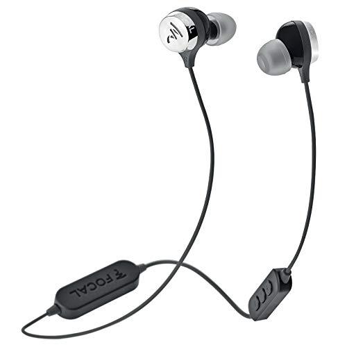 Focal Sphear Wireless - Auriculares (Inalámbrico, Dentro de oído, Binaural, Intraaural, 19-22000 Hz, Negro)