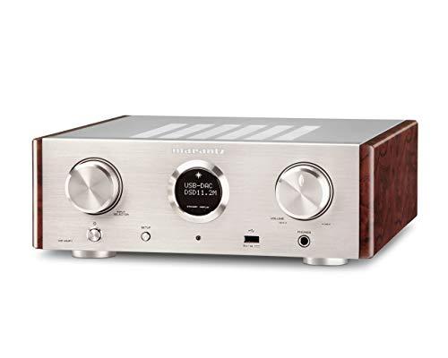 Marantz HD-AMP 1/N1SG (Premium Vollverstärker mit Digital/Audio Wandler 2x 70W) silber/gold