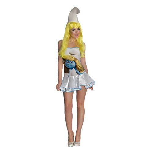 Secret Wishes Smurfs Sexy Smurfette Costume Dress, Multi, Large