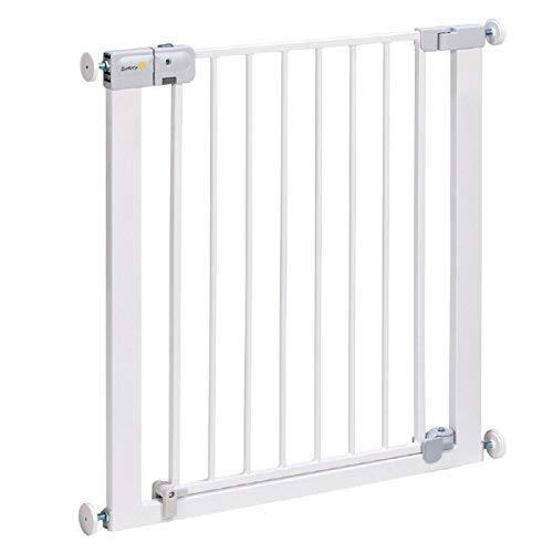 Bébé Nourisson Sécurité Porte Escalier First Securetech Simply Close Métal Portail Blanc