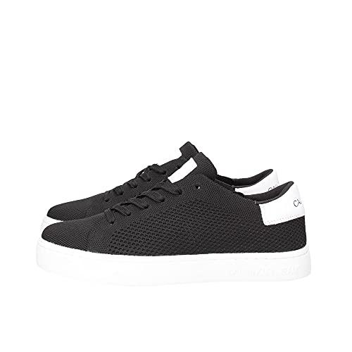 Calvin Klein Jeans - Zapatillas de hombre Basse de punto, Negro , 41 EU