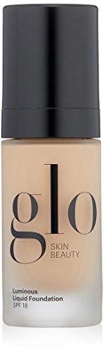 Glo Skin Beauty Luminous Liquid Foundation SPF 18 | Moisturizes & Protects Skin | Talc-Free, Paraben-Free & Cruelty-Free | Sheer Coverage, Dewy Finish