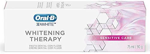 Creme Dental 3D White Whitening Therapy Sensitive Care 1 Unidade, Oral B, Oral B