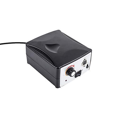 6-in-1 elektrische nagelboor-polijstgereedschap manicure-pedicure-machine professioneel multifunctioneel 30000R nagelvijl boormachine 110 V / 220 V, zwart