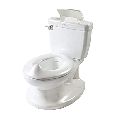 Summer Infant My Size Potty, White - Realistic Potty Training Toilet Looks and Feels Like an Adult Toilet - Easy to Empty and Clean by Summer Infant