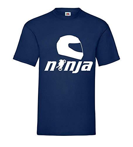 Ninja motorfiets mannen T-shirt - shirt84.de