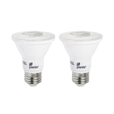 LED PAR20 Dimmable Flood Light Bulb, 7W (50W Equivalent), 500 Lumens, 2700k Soft White, Indoor, 120V, Energy Star Certified