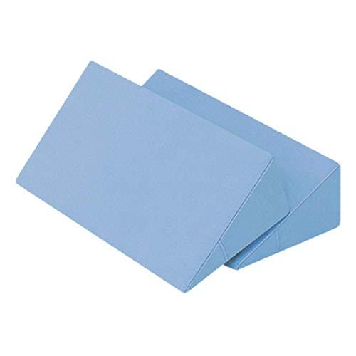 体位変換クッション 2個セット 日本製 綿100% 洗濯可能 床ずれ防止クッション 三角クッション 床ずれ クッション 体位変換 クッション 枕 体位変換枕 三角まくら 床ずれ予防 リハビリ 介護用クッション 7-TB-77-69-F (ブルー)